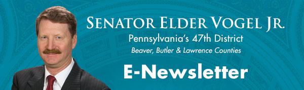Senator Elder Vogel, Jr. E-Newsletter